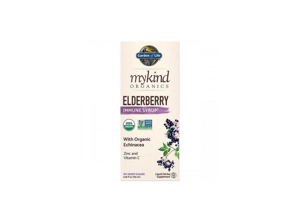 mykind organics elderberry syrup bezinka 195 ml 500x600