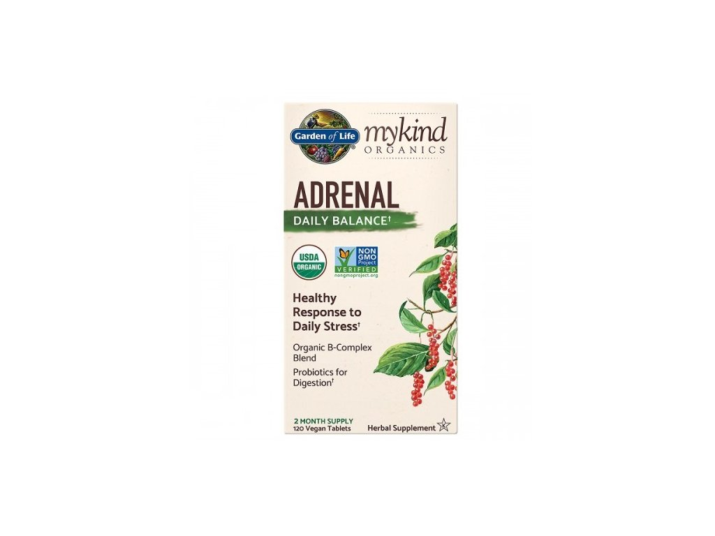 mykind organics adrenal daily balance pro podporu rovnovahy nadledvin 120 tablet 500x600