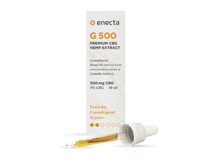 Enecta CBG oil olej konopi canabigerol canatura