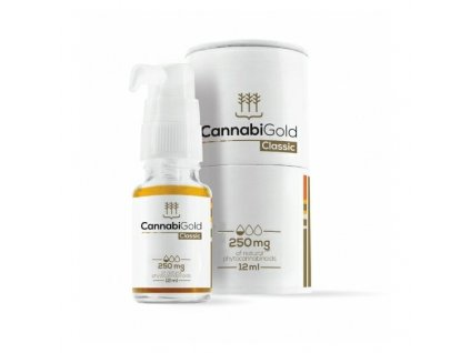 Cannabigold Delicate 250mg CBD oil Canatura