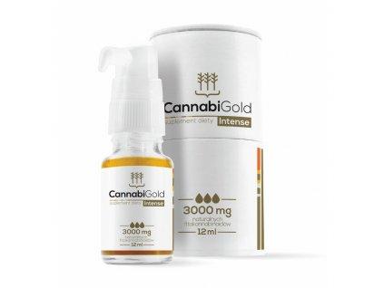 Canatura CannabiGold CBD olej Intense 30