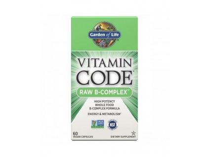 Vitamin code raw B Komplex 60 500x600