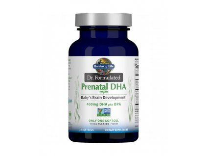 dr. formulated prenatal dha vegan 30 softgels 500x600