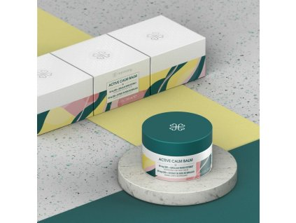 Active Calm balm Cosmetic Packshot 2020 Composition