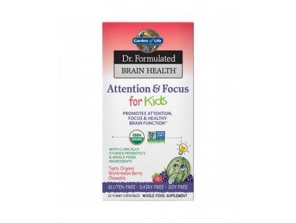 Dr. Formulated Probiotics pozornost a soustredeni pro deti 500x600