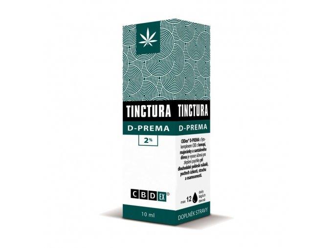Tinctura krabička D prema10 ml 3D
