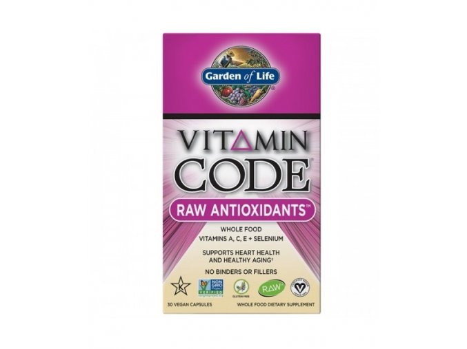 Vitamin Code Raw Antioxidants 30kapsli 500x600