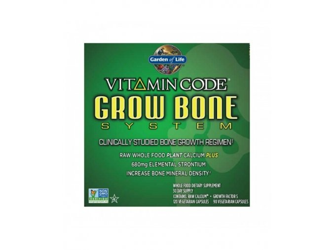 Vitamin Code Grow Bone System pro rust kosti 500x600