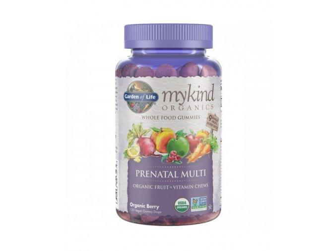 Mykind Organics Multi Gummies PRENATALNI z organickeho ovoce 500x600