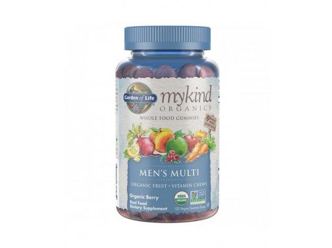 Mykind Organics Multi Gummies Pro Muze z organickeho ovoce 500x600