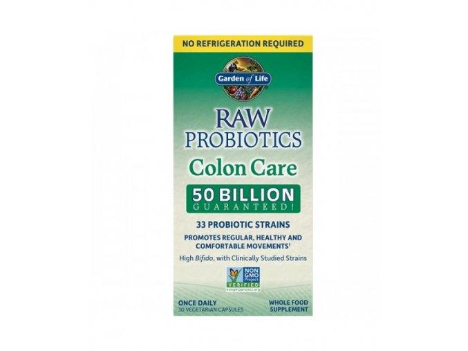Raw Probiotics Colon Care SS 500x600