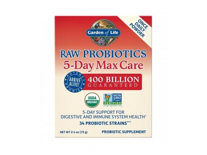 Raw Probiotics 5 Day Max Care 75g 500x600