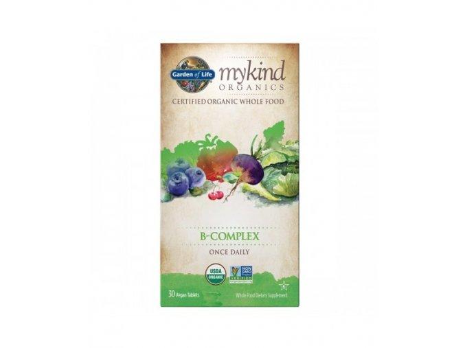 Mykind Organics B Complex jednou denne 30tablet 500x600