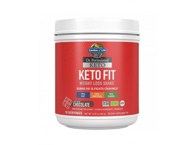 Keto Fit Weight Loss Shake Cokolada 365g 500x600