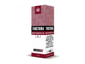 Tinctura krabička metabolis10 ml 3D
