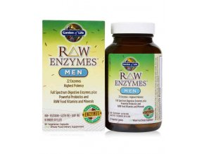 Raw enzymes men 90 kaps. 500x600