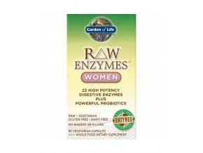 Raw enzymes women digestive health 90 kaps. 500x600