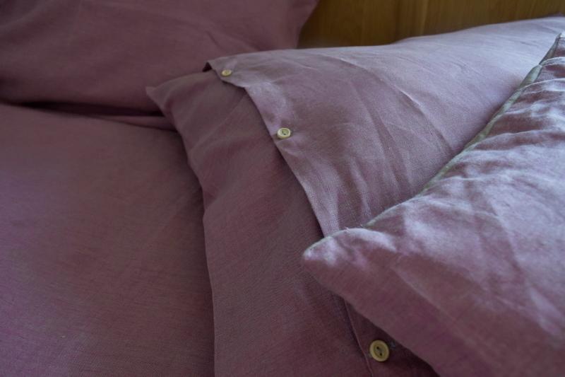 Lněné barevné povlečení STONES | E-len