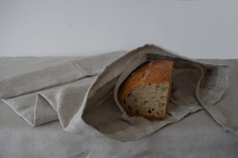 Látkový pytlík na chléb a pečivo rustikální| E-len