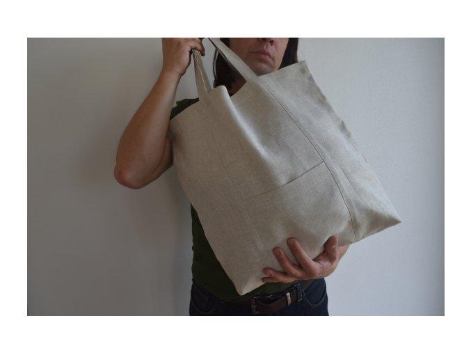 Lněná taška