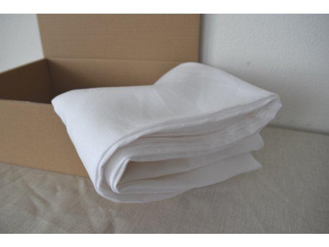 Hygienické prostěradlo bílé