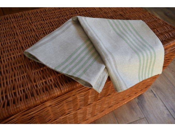 Ručník RETRO - zelený