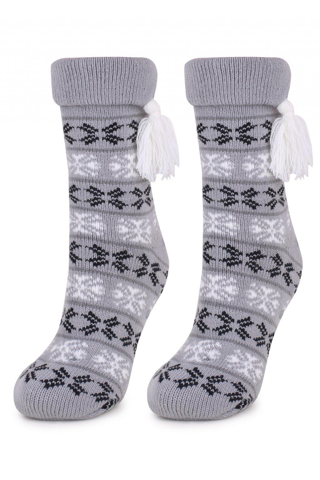 Ponožky TERRY N48 ABS