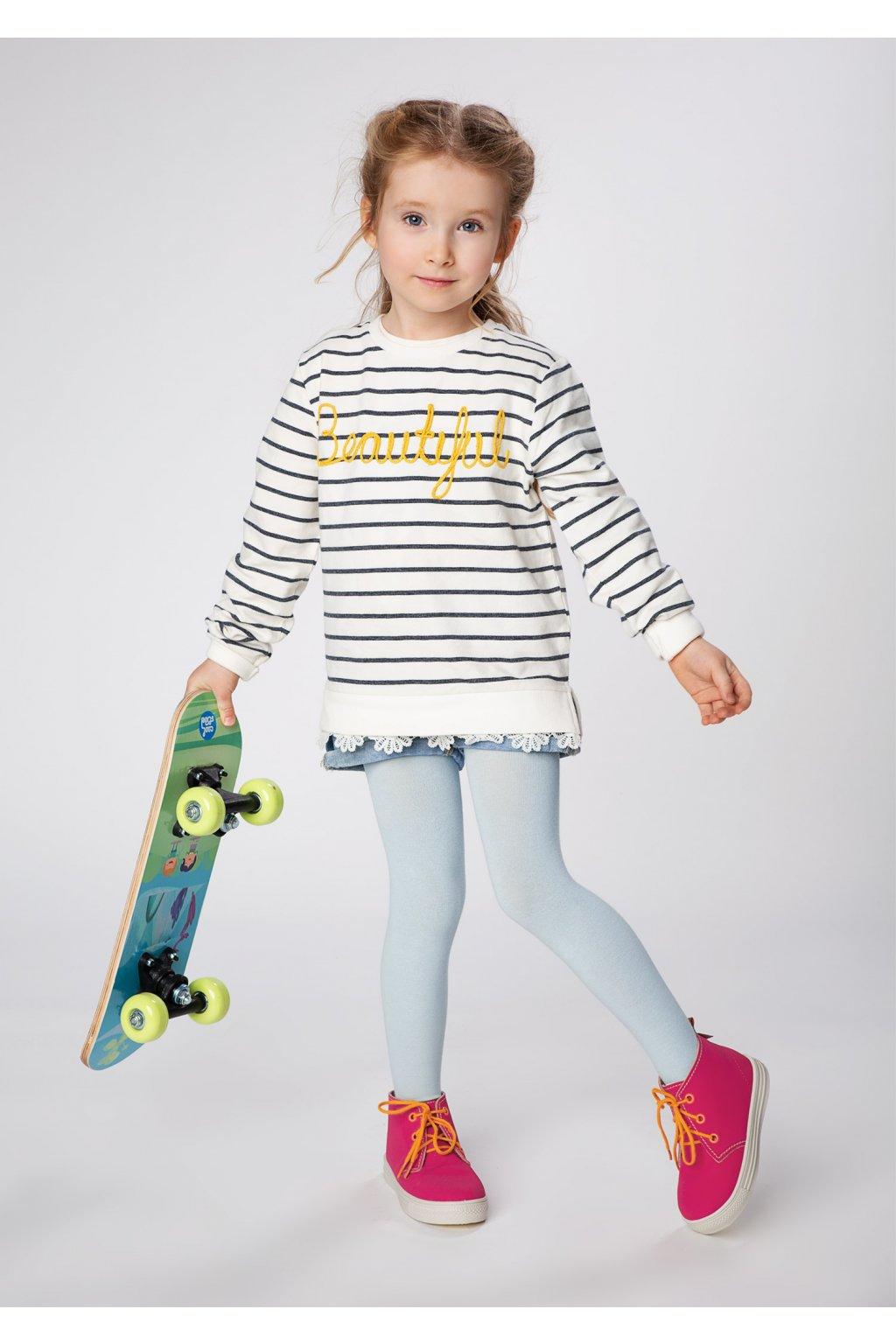 Dívčí bavlněné punčocháče JULIA