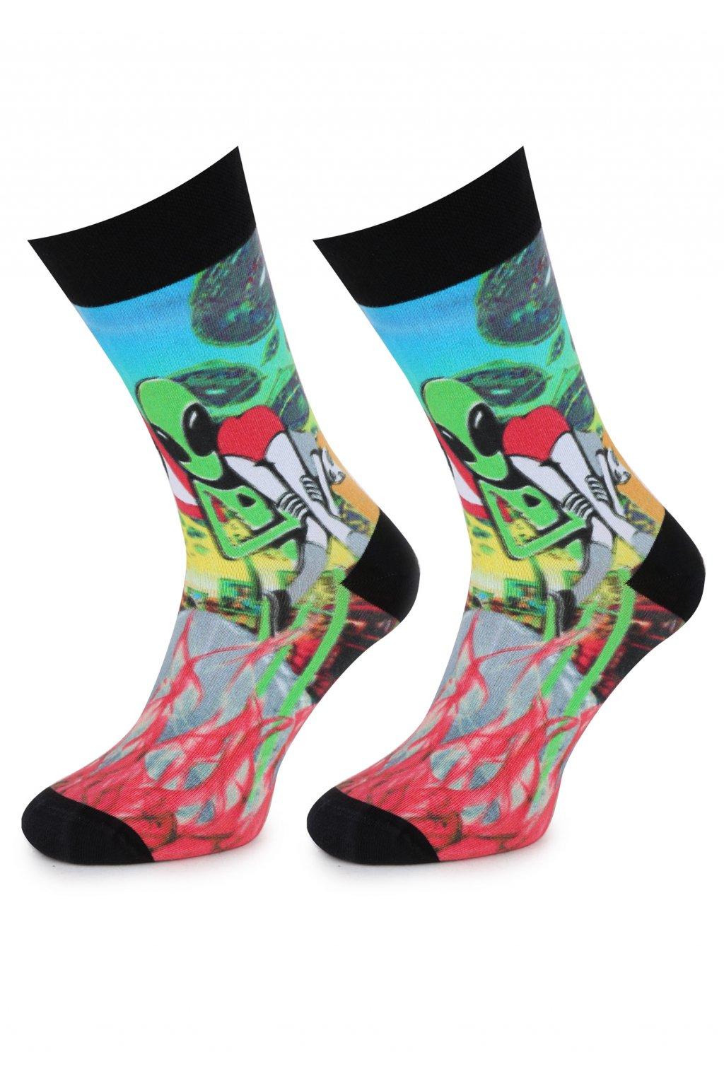 Ponožky MEN SPECIAL ALIEN