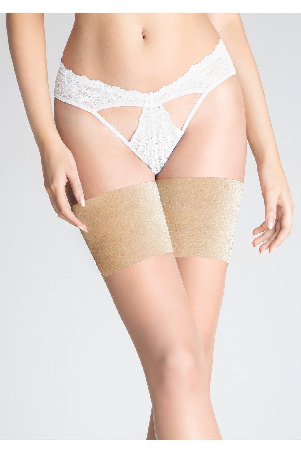 Saténové pásky na stehna PLUS