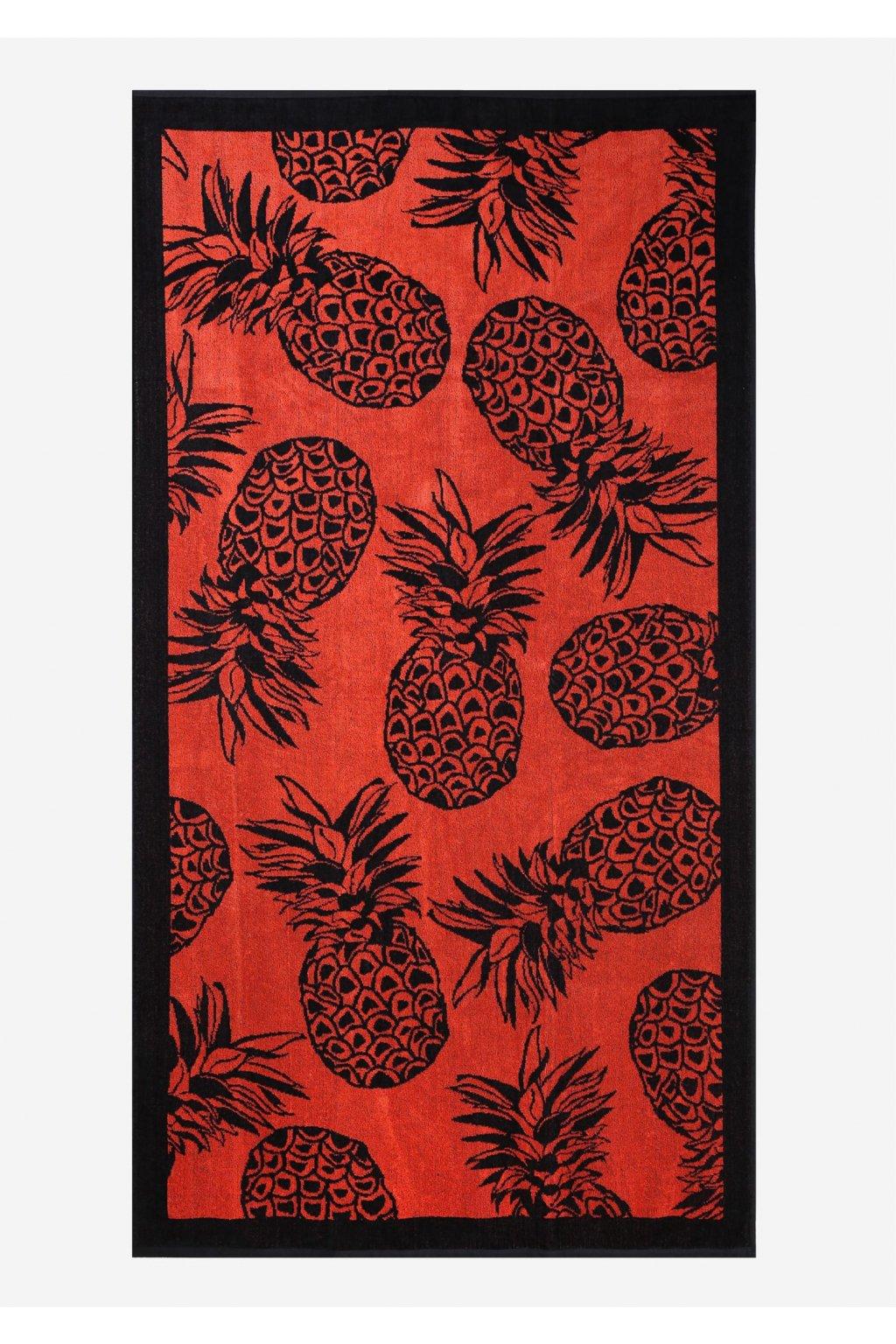 poupee prostokatny recznik plazowy ananas 1