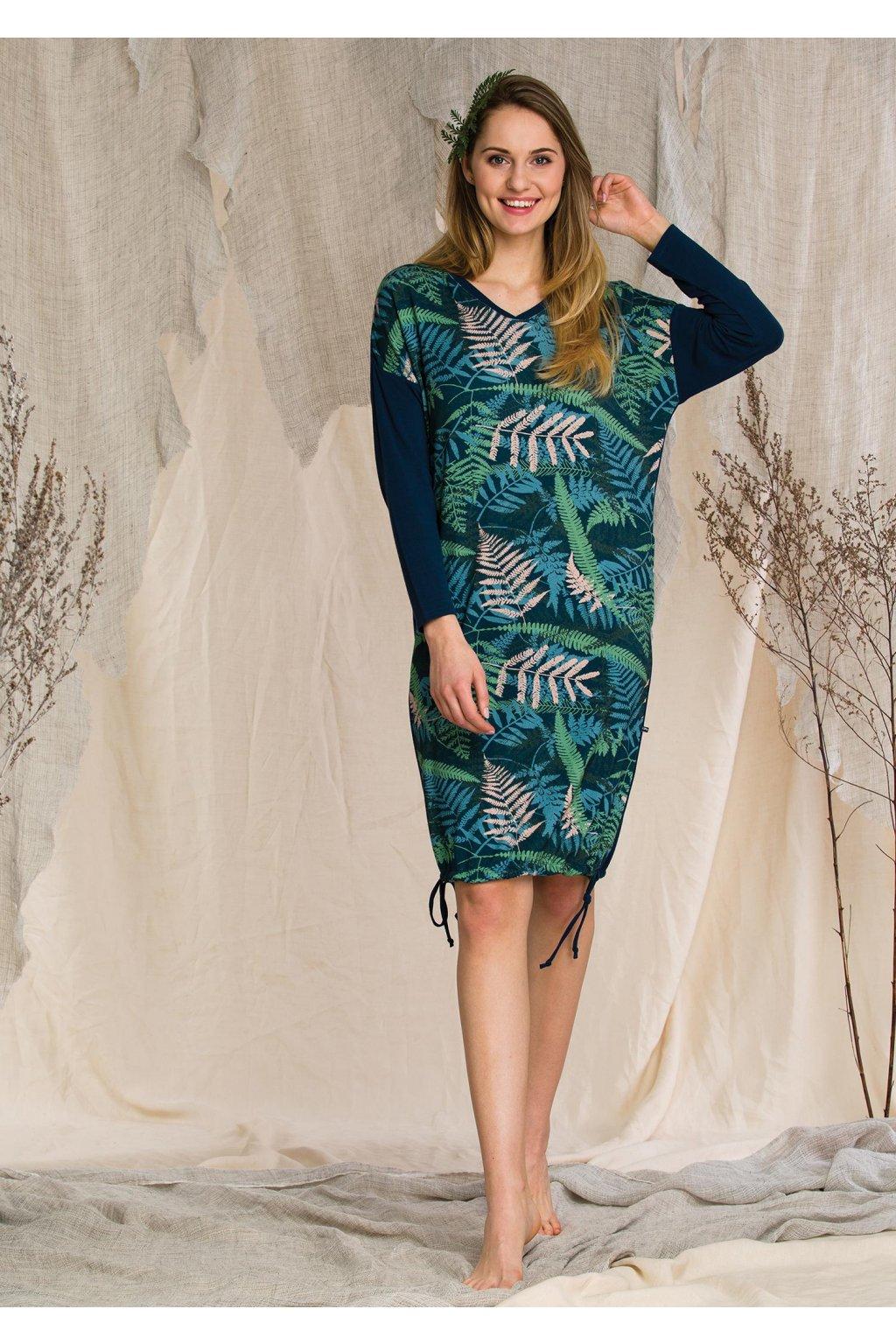 luzna sukienka homewear w paprocie lhd 901 1