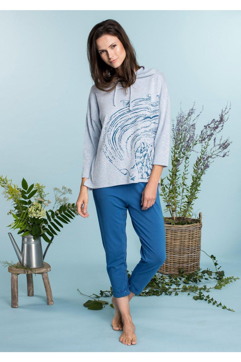 Dvoudílný dámský set na doma - homewear LHS 711 KEY