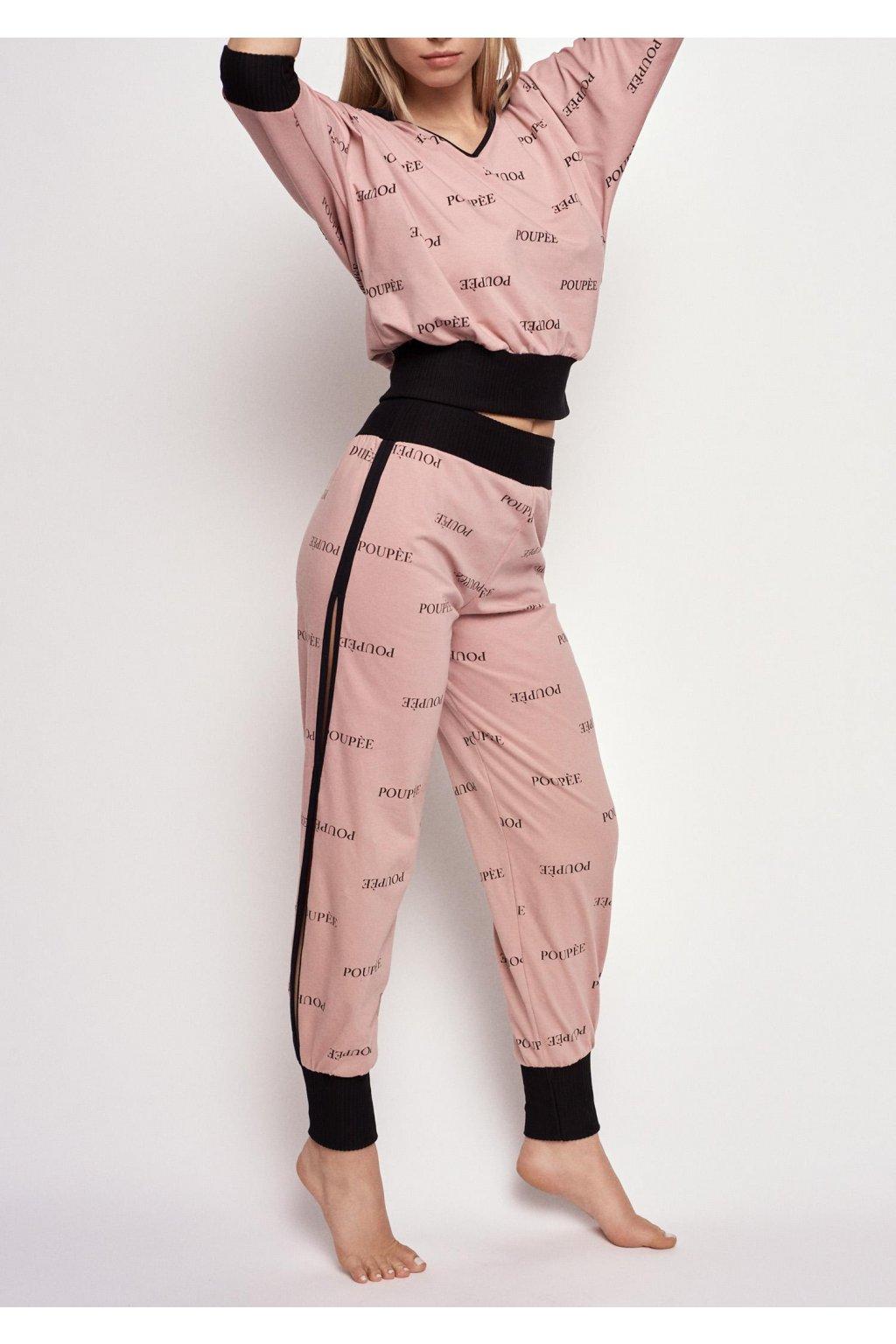 bawelniana pizama z dlugimi spodniami mon bebe poupee marilyn 1
