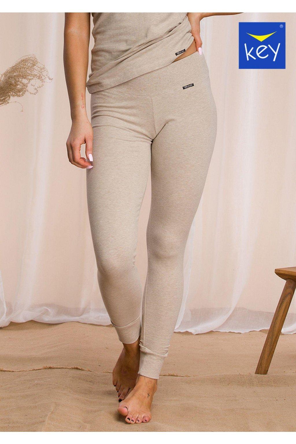 termiczne legginsy damskie z szerokim pasem hot touch lxl 729 3 1