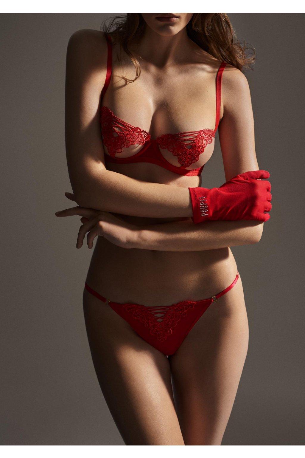 stringi damskie z aplikacja gipiurowa fille jalouse poupee marilyn 3