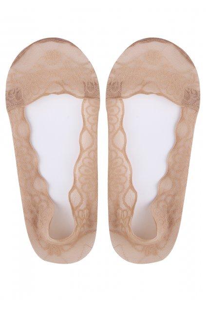 Nízké ponožky LUX LINE ROSE NEW