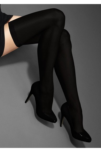 Punčochy EXCLUSIVE HOLD-UPS 40 LUX LINE