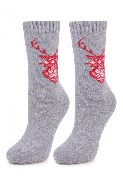 Dámské hřejivé ponožky s angoru TERRY N46