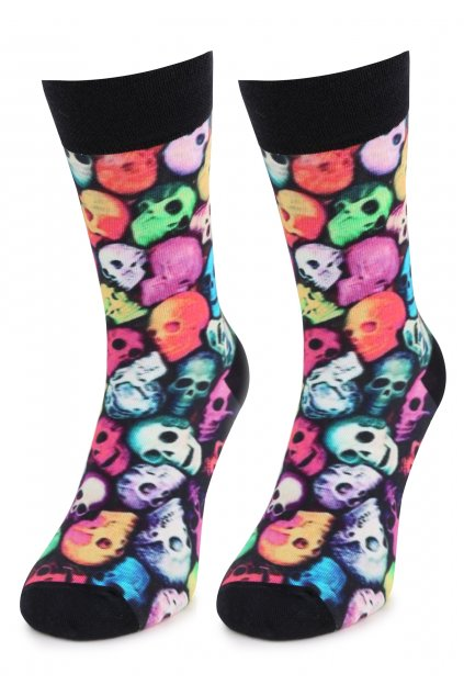Ponožky MEN SPECIAL SKULLS 1