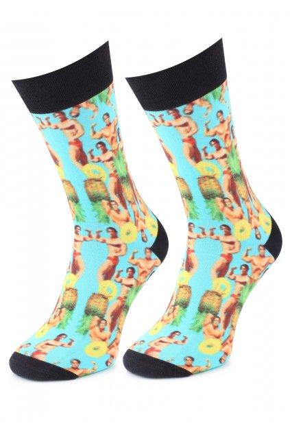 Ponožky MEN SPECIAL PINEAPPLE GUY