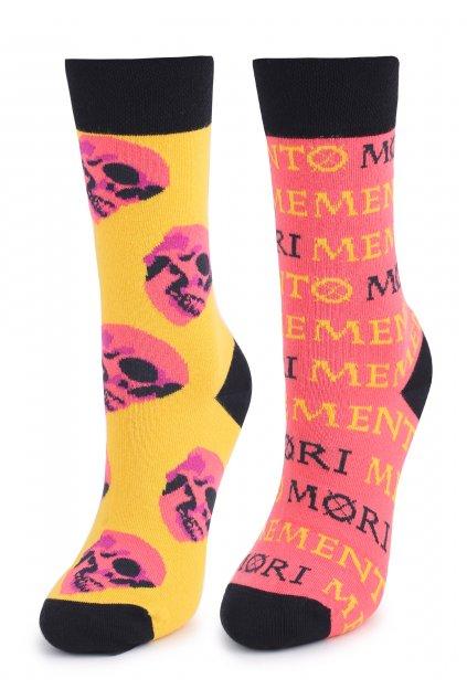 Ponožky UNISEX MEMENTO MORI