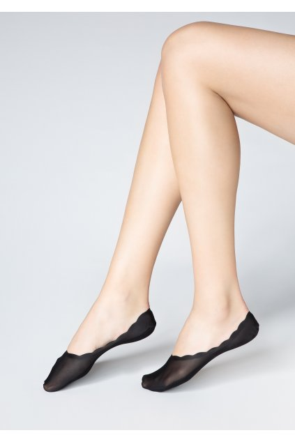 Nízké ponožky LUX LINE HIGH LACE P33
