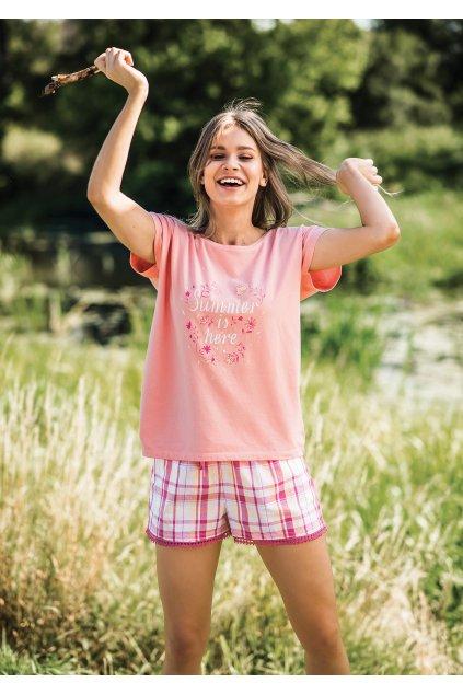 Lehké bavlněné pyžamo LNS 498