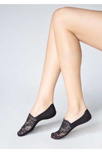 Nízké krajkové ponožky HIGH P36