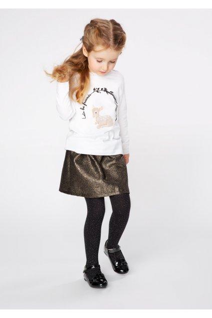 Dívčí bavlněné punčocháče JULIA STARS