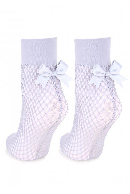 Dámské ponožky - kabaretky se zadním švem P32
