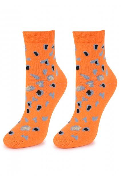 Dámské bavlněné ponožky SC PANTER LUREX