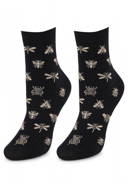 Dámské bavlněné ponožky SC GOLD BUGS