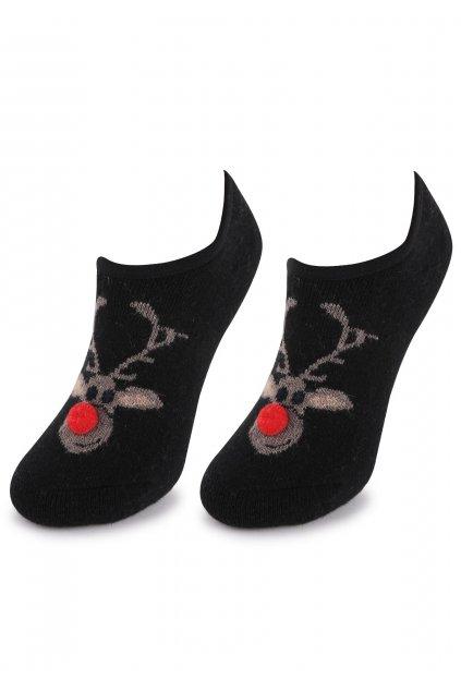marilyn cieple skarpetki baletki z reniferem abs r41 2